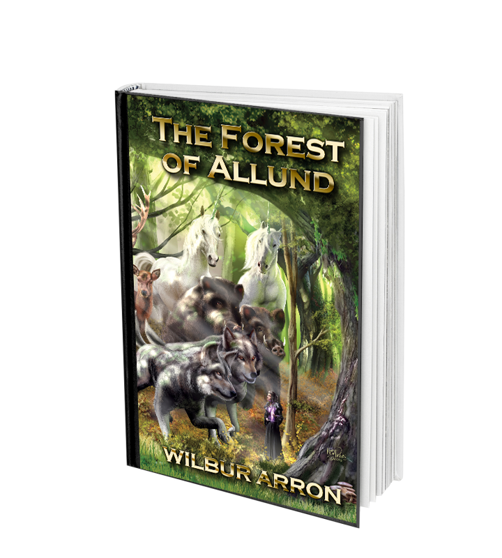 The Forest of Allund fantasy novel