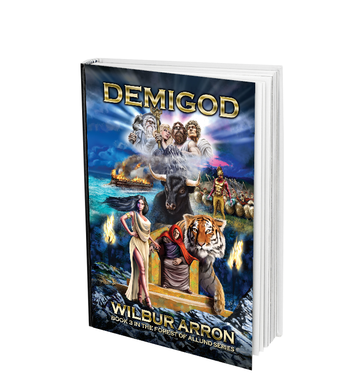 Cover image of the book Demigod